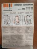 Manual motores lombardini - foto