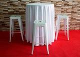 Alquiler mesas altas - foto