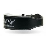 Cinturón de cuero Negro Mad Max - foto