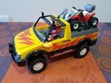playmobil 4228 - todo terreno con quad - foto
