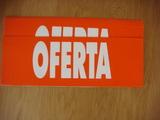 Carteles Oferta 25 unidades 48x17 - foto
