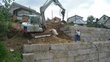 Muros de contención y excavaciones - foto