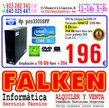 hp pro 3300 i3 8 Gb RAM 250Gb disco duro - foto