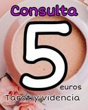 Tarot y videncia 5 eur 15 min  911224695 - foto