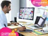 Diseño Logos, tarjetas de visita, flyers - foto