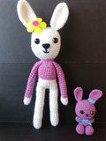 Lote dos conejos Amigurumi - foto