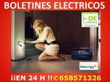 Boletin electrico urgente - foto