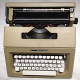 Máquina escribir olivetti sin estrenar - foto