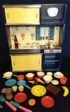 Cocinita de juguete azul,de los 60 - foto