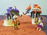 playmobil 4235 - elefantes de circo - foto