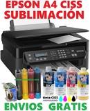 Impresora A4 Epson 2510 CISS Sublimación - foto