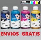4 botellas 100 ml. de tinta sublimación - foto