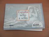 Ábum de sellos - España sello a sello. - foto