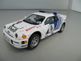 Coche slot scalextric Ford RS 200. - foto