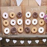 Pared de donut - foto