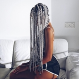 trenzas afro - foto