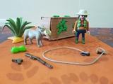 playmobil 4833 - cazador con jabalí - foto