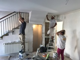Alisado de gotelÉ y pintura en granada - foto