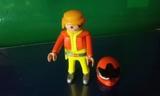 Piloto con casco playmobil - foto