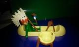 Canoa con indio playmobil - foto
