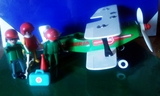 Avioneta bi-plaza 1977 playmobil - foto