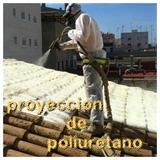 Proyeccion de poliuretano aislante - foto