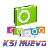 MP3 Player mini USB Nuevo colores - foto