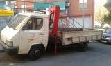transporte camiones grúa - foto