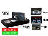 PASAR CINTAS DE VHS-C A DIGITAL O DVD