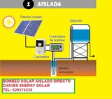 Placas solares para bombas de pozo - foto