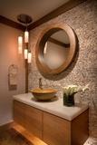 Baños, habitaciones y patios con piedra - foto