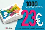 1000 tarjetas de visita 18 EUROS - foto