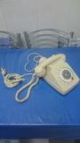 Antiguo teléfono francés - doble auricul - foto