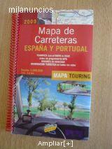 MAPA DE CARRETERAS ESPAñA PORTUGAL 2009
