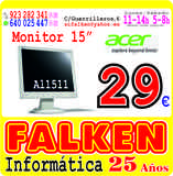 "Monitor ocasión 15\"" Acer - foto"