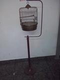 Vendo jaula con soporte para canario - foto