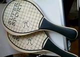 Palas ping pong o tenis - foto