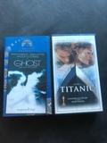 VHS original Titanic y Ghost - foto