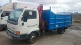 transportes camión pluma - foto