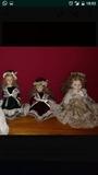 Muñecas de porcelana - foto