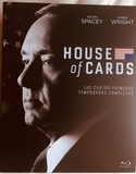 Blu Ray House of cards 1-2-3-4 Temporads - foto