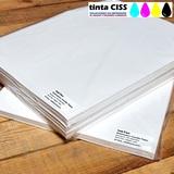 100 hojas papel sublimación para Hp - foto
