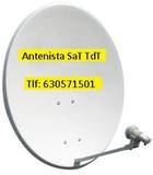 Antena parabolica completa - foto