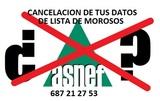 GESTION DE LISTAS DE MOROSOS.  50 EUROS - foto