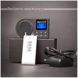 reclamo electrónico reproductor - foto