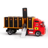 Camión de transporte de toros de juguete - foto
