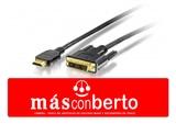 Cable HDMI/DVI 1.8m - foto