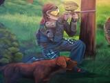 muralista ilustrador graffiti - foto