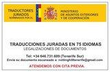 Traducciones juradas - foto