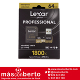 Tarjeta microSDXC 64GB Lexar 1800X - foto
